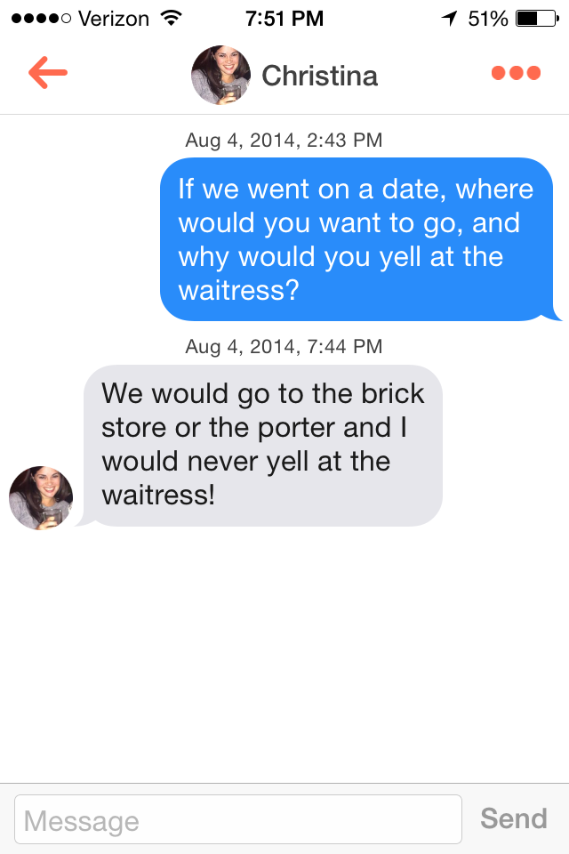 Tinder hookup pick up lines